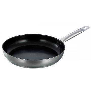 Non-stick coating stainless steel frypan