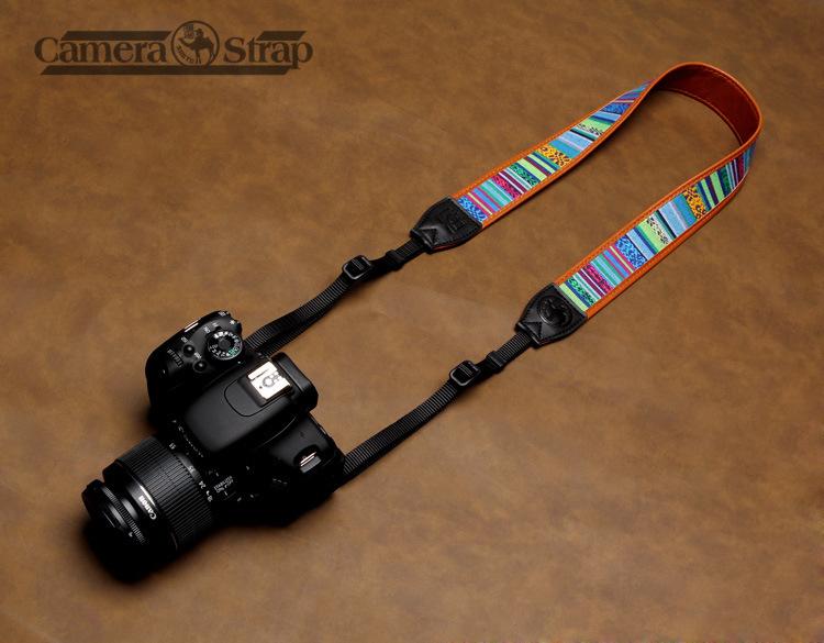 Camera Straps Retro Vintage VNS Soft Multi-color Neck Strap for Canon Fuji Nikon Olympus Panasonic Pentax Sony Cameras