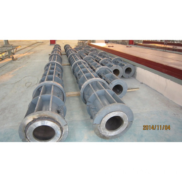 Precast Concrete Electric Pole Mould In Myanmar