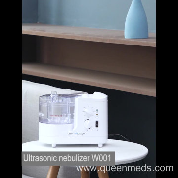 Portable Home and hospital use asthma ultrasonic nebulizer