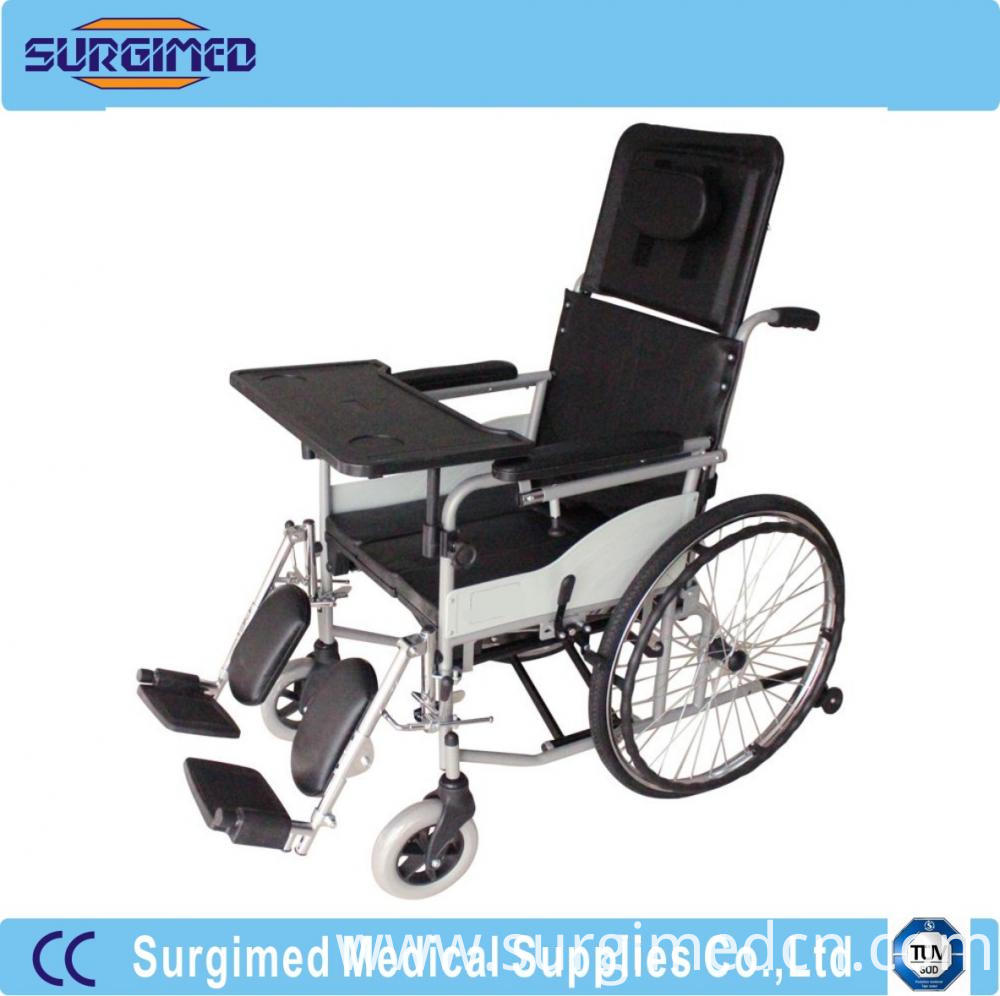 Manual Steel Wheelchair