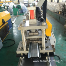 rolling shutter panel making machine