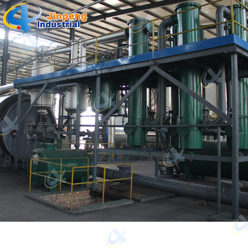 Waste Tire Recycling to Fuel Oil Pyrolysis Machine