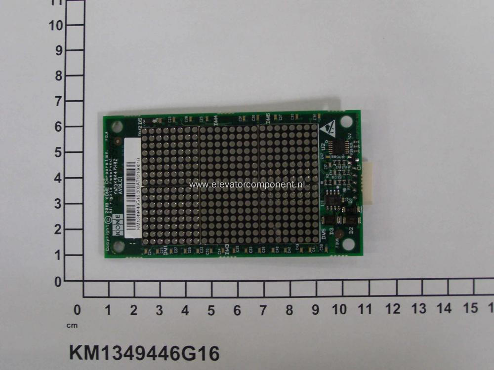 KONE Lift AVDLCI Display Board KM1349446G16