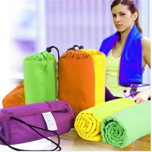 microfiber suede towel for sport travel beach