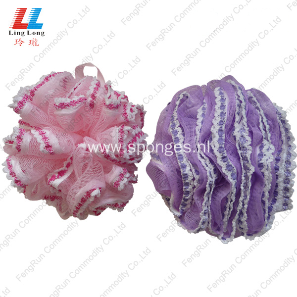 Lace Elegant Bath Sponge shower body sponge