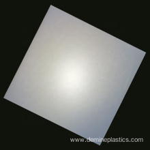 Translucent frosted office baffle polycarboante solid board
