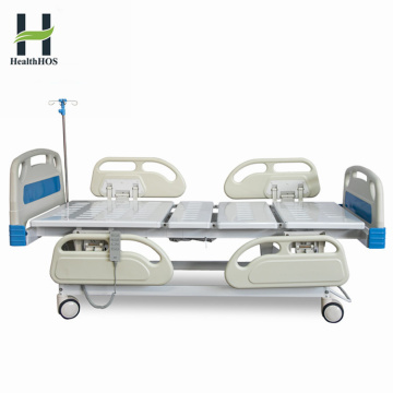 ICU ward room 5-function electric hospital bed electronic medical bed for patient
