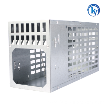 Single-door Catch Metal Mouse Rat Rodent Trap Cage