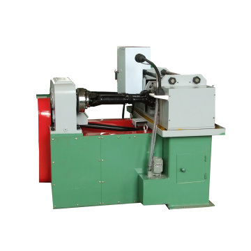 Two rollers bar thread rolling machine