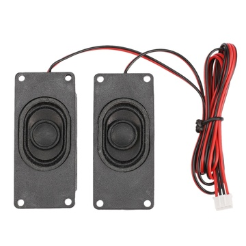 4 Ohm 3W LCD Panel Speaker Amplifier o Frequency Output for V59/56/59 3463A SKR.03 - Black (30mm x 70mm) 1 Pair