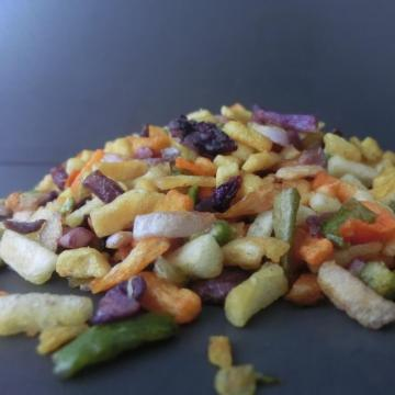 fast food VF mixed vegetables and fruits