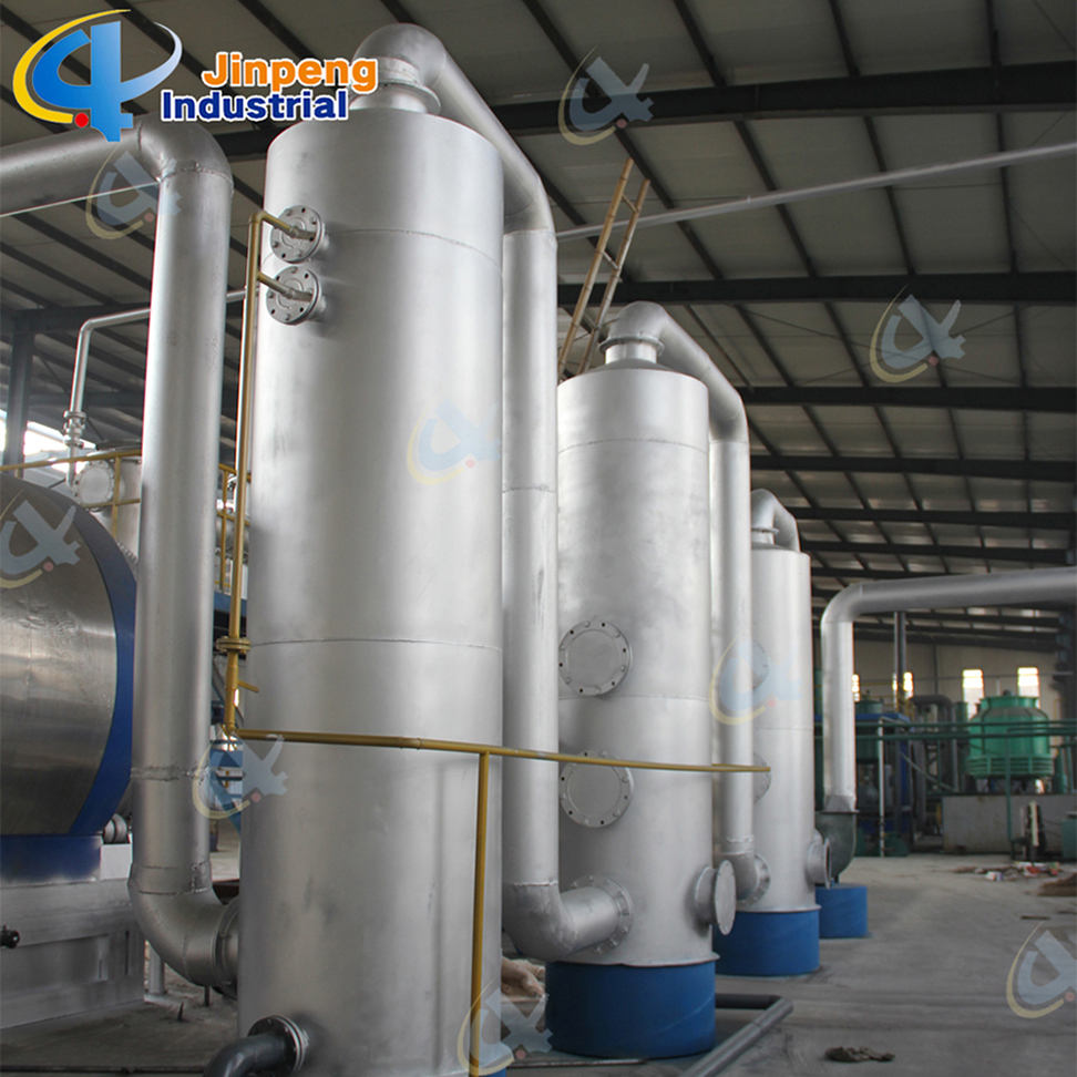 Waste Base Oil Process Equipment