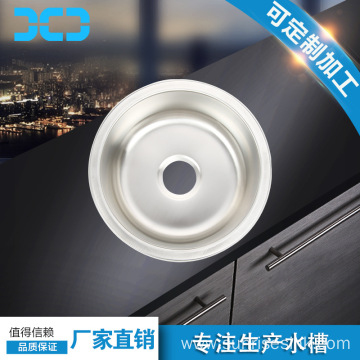 Hot sale countertop small one piece bathroom sink