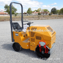 800KG Hydraulic Small Tandem Vibratory Roller