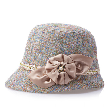 Large bucket hat wide brim summer panama hat
