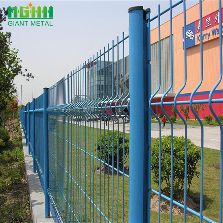 Factory Supply 50x100mm Galvanized Highway 3D Fence