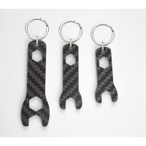 Carbon fiber Key chain wrench