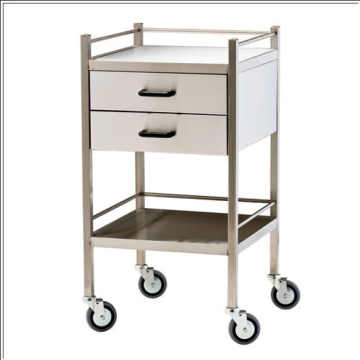 Stainless steel Hospital dressing trolley