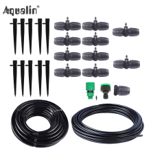 10m 9/12 Hose Automatic Drip Irrigation System Garden Irrigation Systems Watering Kits with Adjustable Dripper #26301-8