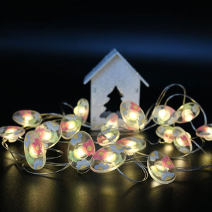 Easter Led Fairy Light with Colorful Egg