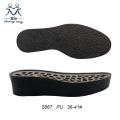 Women Black Thick Crepe Outsole