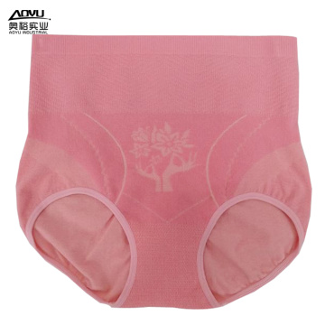 Women Briefs Pattern Seamless High Waist Panties