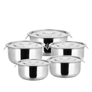 410 Stainless Steel Cooking Stock Pots