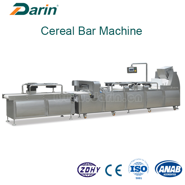 17 Machine for cereal bar