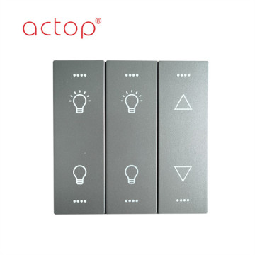 Smart hotel wall switch for hotel
