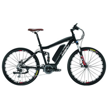 26Inch Electric Mountain Fat Tire Beach Cruiser Bike