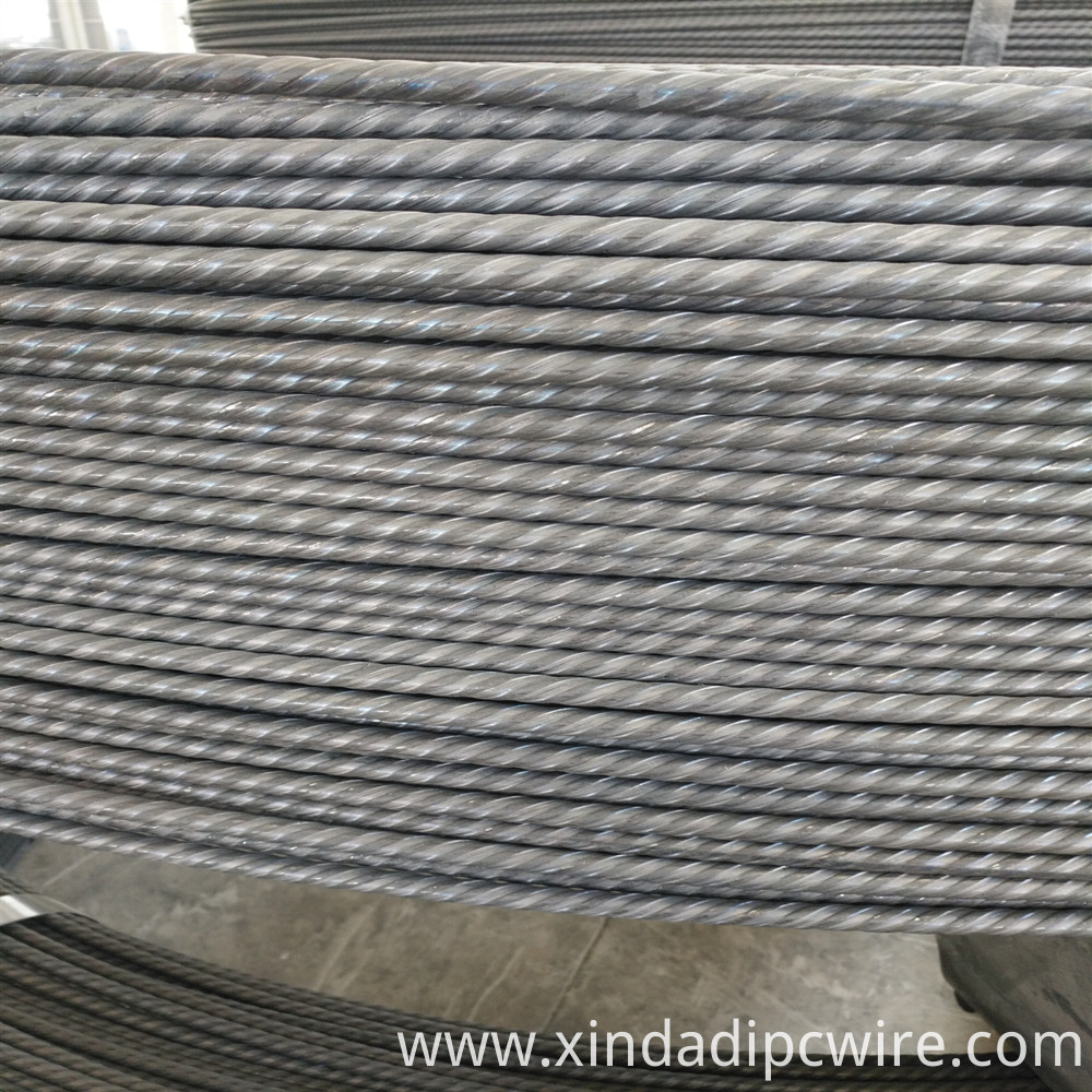 PC Wire Spiral Ribbed 7mm
