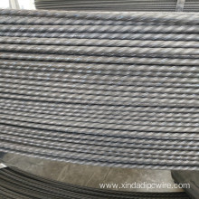 Concrete poles  4.8mm spiral ribbed wire