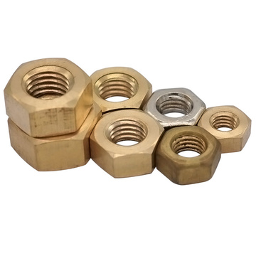 The Brass Hex Panel Nut