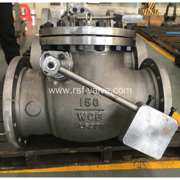 BS1868 Swing Check Valve with Lever and Weight