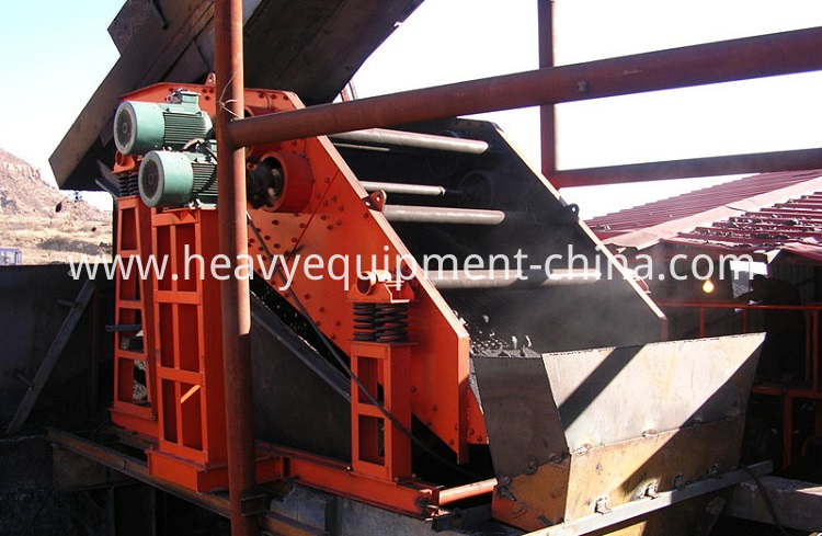 Circular Vibration Sieve For Ore Crusher Plant