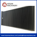 Plastic accordion cnc machine guards bellow covers