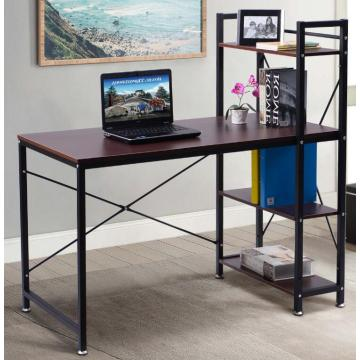 Office Table with Bookshelf Models
