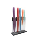 Colored coating blade knife set