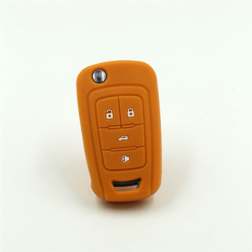 Protective Flip Car Key Silicone Case For Chevrolet