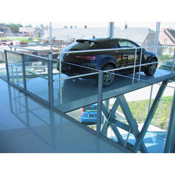 Scissor car lift table