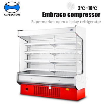 convenience store upright refrigerator display case