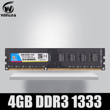 VEINEDA Dimm Ram DDR3 4 gb 1333Mhz ddr 3 PC3-10600 Compatible 1066 ,1600 Memory 240pin for All AMD Intel Desktop