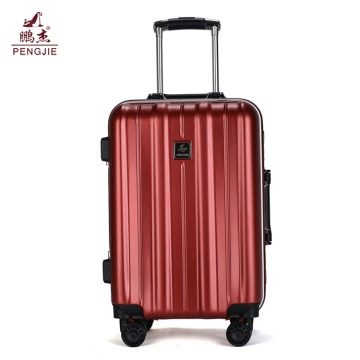 New Style wholesale ABS PC hard plastic luggage