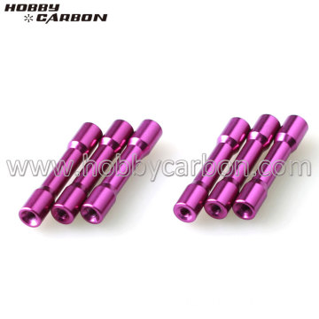 Available Anodized Step-round Aluminum Standoffs