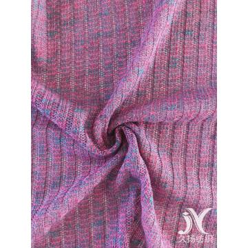 Polyester Rib Fabric Knitted