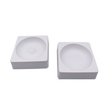 White vacuum forming inner plastic tray