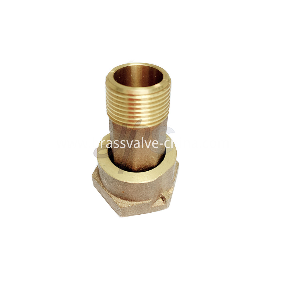 Hps Low Lead Brass Water Meter Fitting