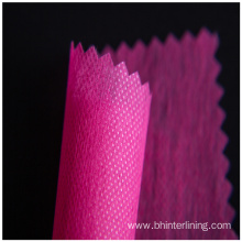 100% polyester non woven interlining fabric for coat