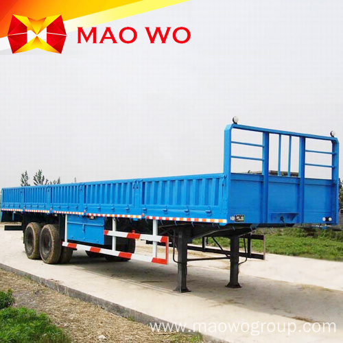 Best Selling 3 Axle 40ft Sidewall Cargo Trailer